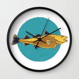 cod fish Wall Clock