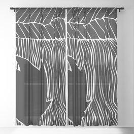 circulating Sheer Curtain