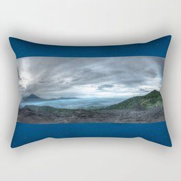 Volcanoes at large Rectangular Pillow