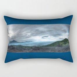Volcanoes at large Rectangular Pillow