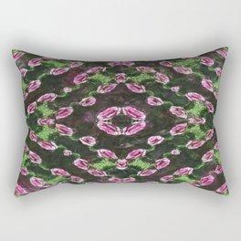Rosas Moradas 2 Kaleidoscope 13 Rectangular Pillow