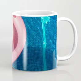 Rose blue swimming pool Coffee Mug