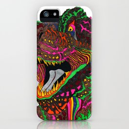 Dinosaur Lizard iPhone Case