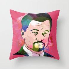 Leonardo DI-CAPRIO Throw Pillow