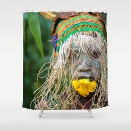 Suri Flower Shower Curtain