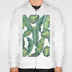 Jungle Leaves, Banana, Monstera II #society6 Hoody