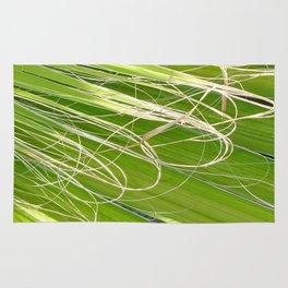Palm Fan Art Rug