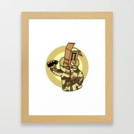 BOX MASTER Framed Art Print