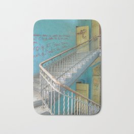 Lost Places, Beelitz Heilstaetten stairs Bath Mat