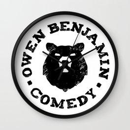 Owen Benjamin Comedy Wall Clock