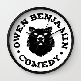 Owen Benjamin Comedy Wall Clock