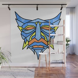 Blue Robot Wall Mural