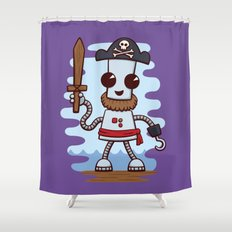 Pirate Ned Shower Curtain