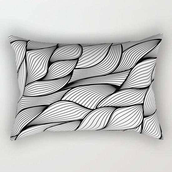 Thread monochrome Rectangular Pillow
