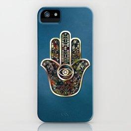 Hamsa Mosaic iPhone Case
