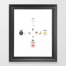 Oneida Nation - Four Winds Framed Art Print