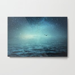 the sea and the universe Metal Print