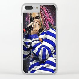 Lil Pump Clear iPhone Case