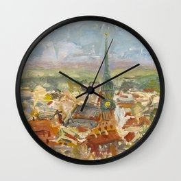 The First of May in Rīga, Latvia Wall Clock