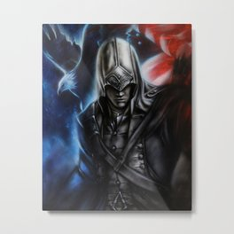 His Spirit Lives Metal Print