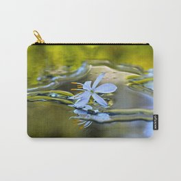 Innocence Tiny Flower of Spider plant Carry-All Pouch