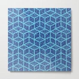 Kenna (Blue) Metal Print