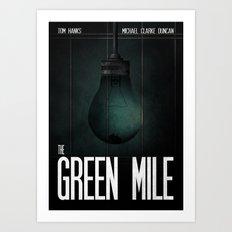 Green Mile Art Print