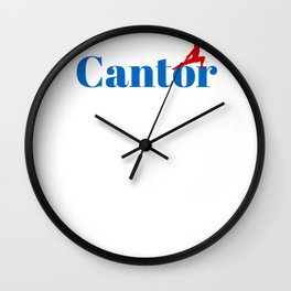 Top Cantor Wall Clock
