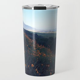 California Poppys Travel Mug