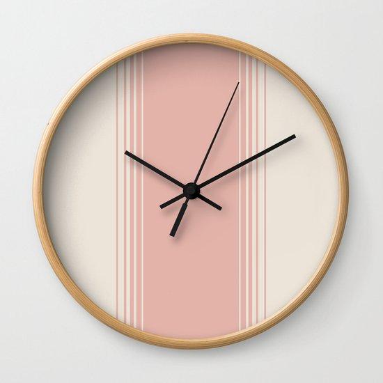 Pink Clay Vertical Gradient by midcenturymodern