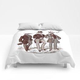 Gentlemen in the Woods Comforters
