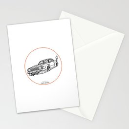 Crazy Car Art 0099 Stationery Cards