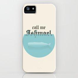 Ishmael iPhone Case