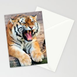 Roaring Tiger Stationery Cards