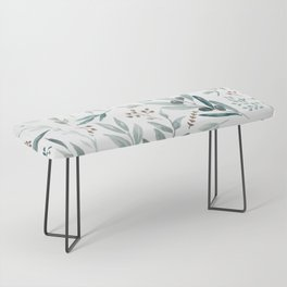 Eucalyptus pattern Bench