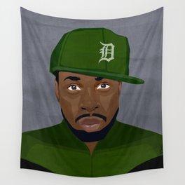 Detroit Hip-Hop Hero II Wall Tapestry
