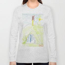 Teletubbie House Long Sleeve T-shirt
