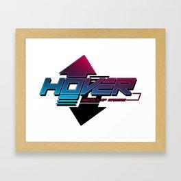 Hover Logo Framed Art Print