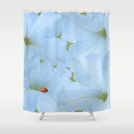 Petunias Petunias Shower Curtain