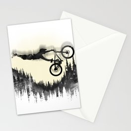 MTB Moon Forest Stationery Cards