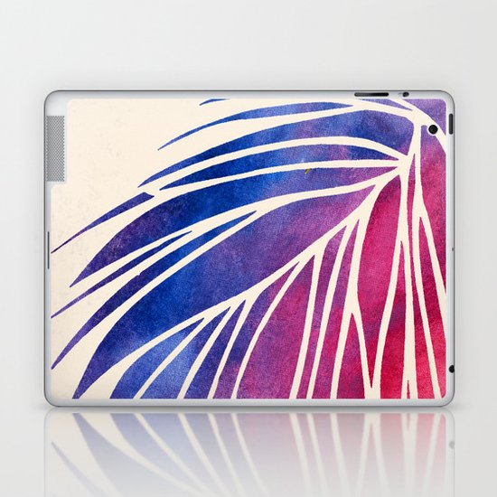 Watercolor Porcupine Laptop & iPad Skin