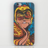 fear and loathing iPhone & iPod Skins featuring Fear and Loathing  by Katrina Berkenbosch