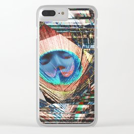 Vanity's Addictions Clear iPhone Case