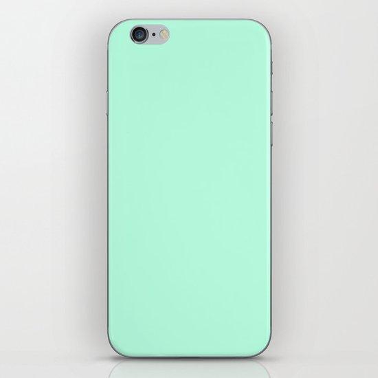 SOLID MINT iPhone & iPod Skin