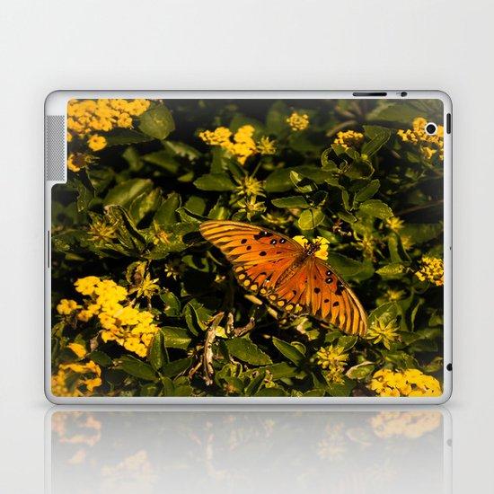 Orange Beach Butterfly 2 Laptop & iPad Skin