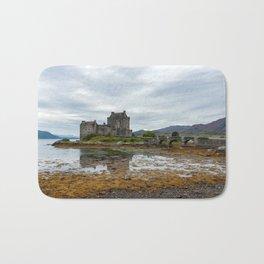 Eilean Donan Castle in Scotland Bath Mat
