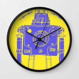 Mr Roboto Wall Clock