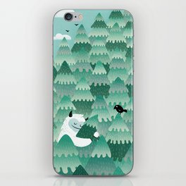 Tree Hugger (Spring & Summer version) iPhone Skin