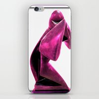 ninja iPhone & iPod Skins featuring Ninja by Dawn East Sider