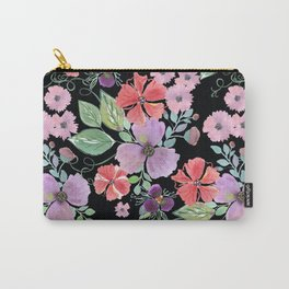 Floral pattern 8 Carry-All Pouch